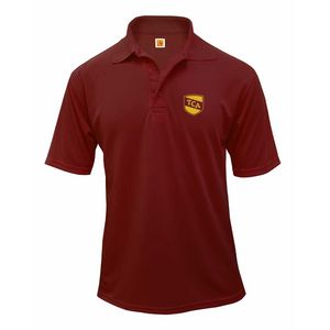TCA short-sleeve unisex polo