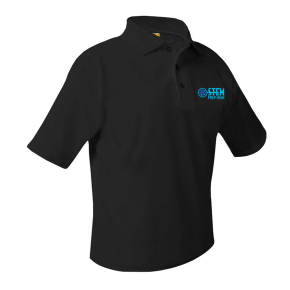STEM high-school short-sleeve unisex polo