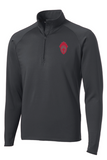 CCHS light quarter-zip