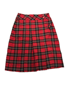 CKS plaid kilt