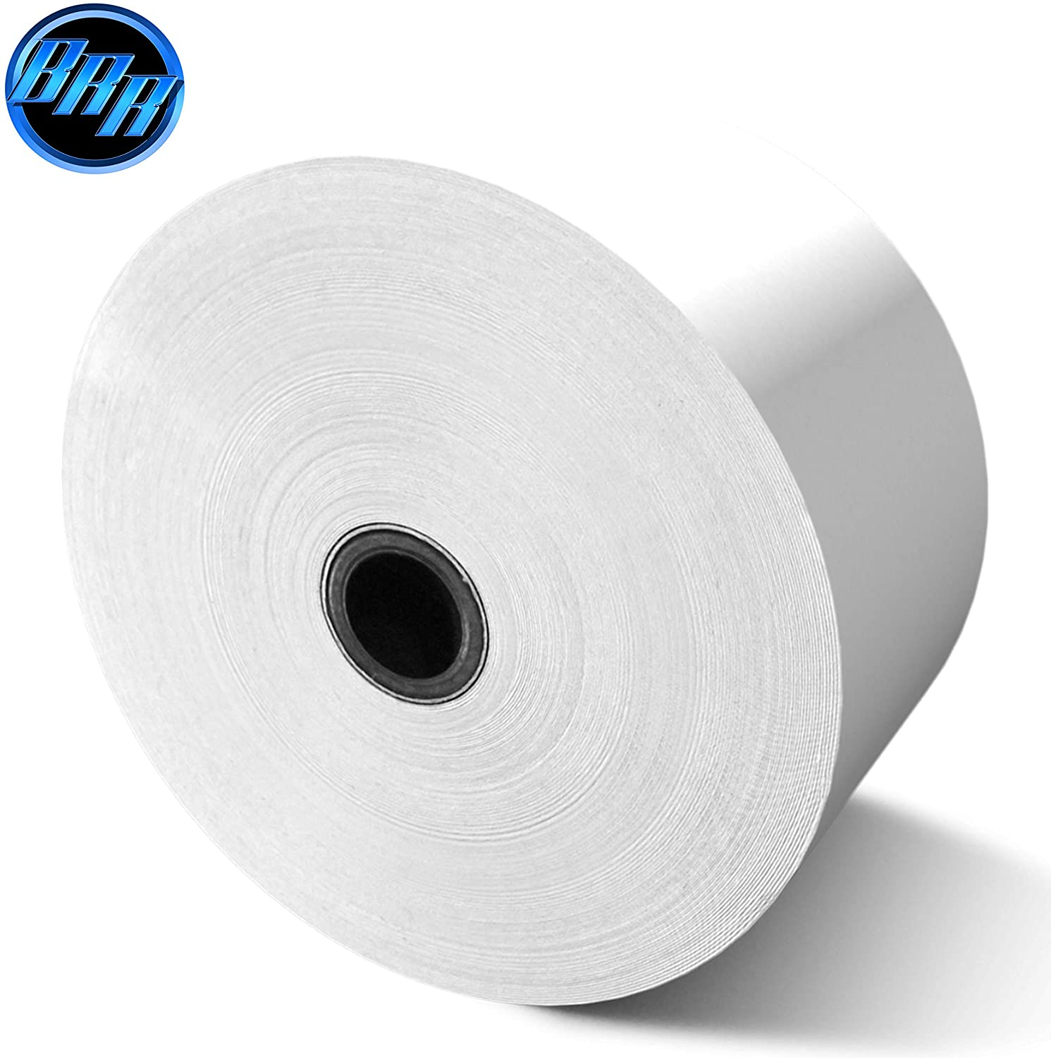 "(80 GSM Paper Thickness Core) 2-1/4"" x 675' 8 Rolls Thermal Atm Receipt Paper Rolls"
