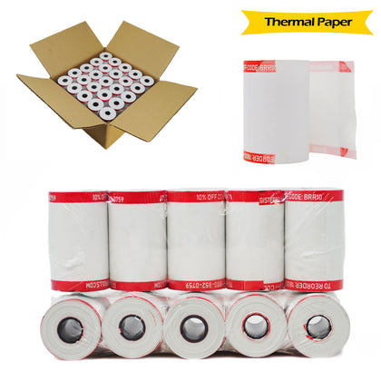 BuyRegisterRolls® Register Rolls 1 Case 50 ROLLS 2-1/4