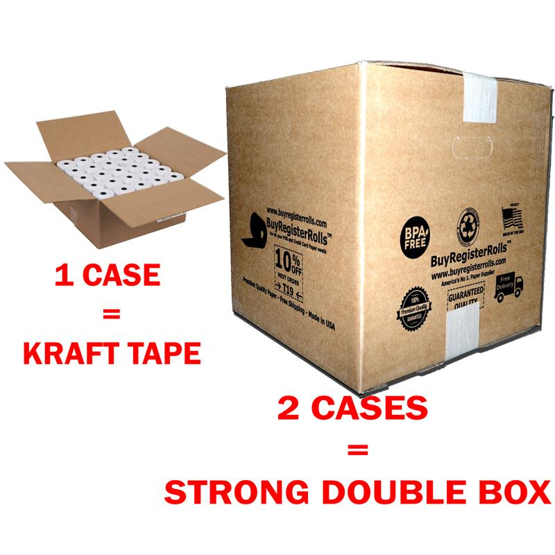 3 1/8 x 230 thermal paper roll 500 Rolls pack Premium - BPA FREE - Amazon Shipping 5-8 Business Days