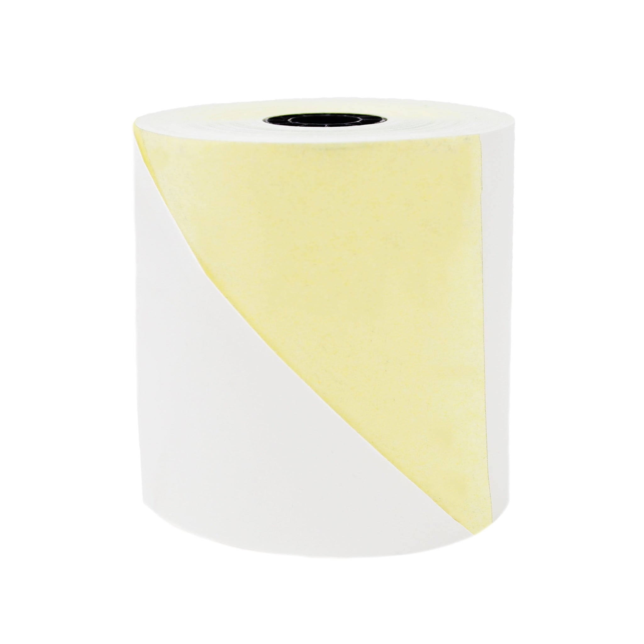 2-ply Carbonless 3.0 x 3.0 inches x 90 feet Carbonless Cash Register Paper Box of 50 Rolls Made in USA From BuyRegisterRolls