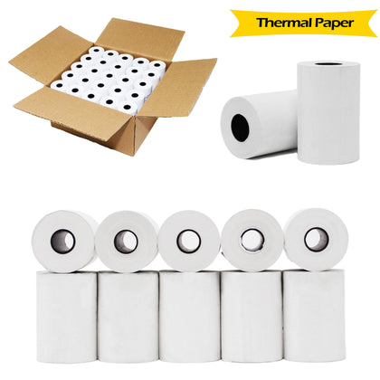 BuyRegisterRolls® Register Rolls 50 ROLLS 1 CASE 2-1/4