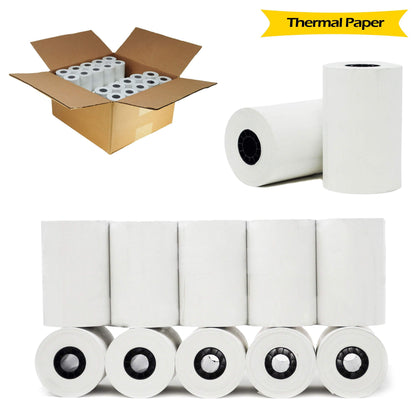 BuyRegisterRolls® Register Rolls 50 ROLLS 1 CASE 3-1/8