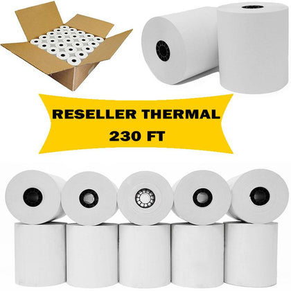 BuyRegisterRolls® Register Rolls [For Resellers] 3 1/8