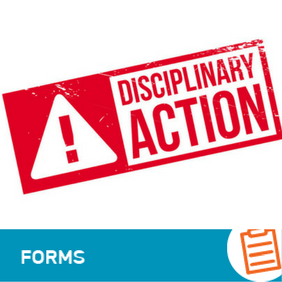 F-HR-002 Record of Disciplinary Action Form