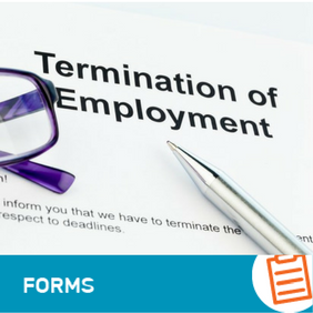 F-HR-004 Termination of Employment Letter