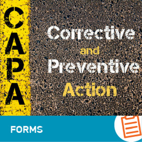 F-QA-001 Corrective & Preventative Action Request