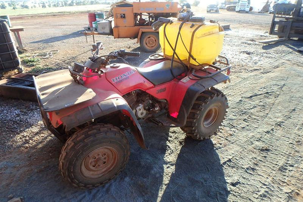 SWMS 5005 - Weed spraying from Quad Bike