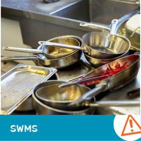 SWMS 14015 - Dishwashing in a Sink Operations