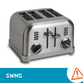 SWMS 14016 - Pop Up Toaster Operations