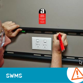 SWMS 10004 - Mounting fixtures into Non-Friable Asbestos Material