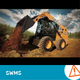 SWMS 4001 - Skid steer bobcat