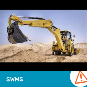 SWMS 4003 - Backhoe operation