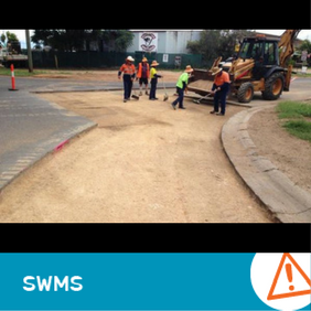 SWMS 4006 - Minor road construction