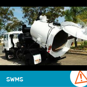 SWMS 4007 - Hydro Blasting and Vacuuming Truck