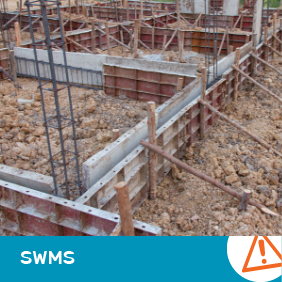 SWMS 2022 - Ground Level Formwork