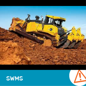 SWMS 4011 - Tracked Dozer Work