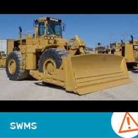 SWMS 4012 - Rubber Tyred Dozer Work