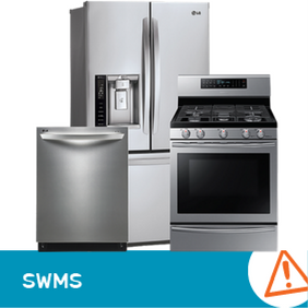 SWMS 1002 - Kitchen appliances repair or install