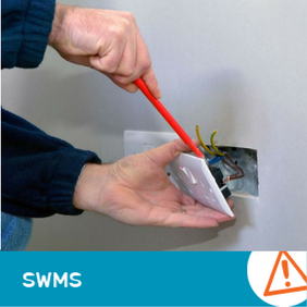 SWMS 1003 - Electrical fittings (240V to 415VAC) Electrical