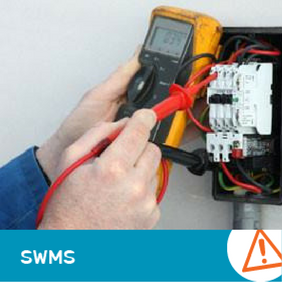 SWMS 1004 - Electrical Fault Finding and Repairs