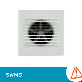 SWMS 1009 - Solar Tube Exhaust Fan Motor