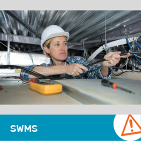 SWMS 1012 - Electrical work in restricted cavities or work spaces