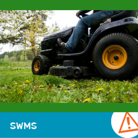 SWMS 5001 - Ride on mower