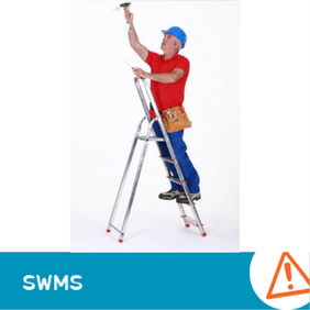 SWMS 2016 - Using a ladder