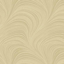 "Load image into Gallery viewer, 108"" WIDE WAVE TEXTURE BISQUE By Jackie Robinson for Benartex"