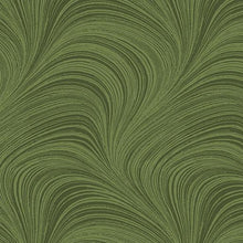 "Load image into Gallery viewer, 108"" WIDE WAVE TEXTURE MEDIUM GREEN By Jackie Robinson for Benartex"