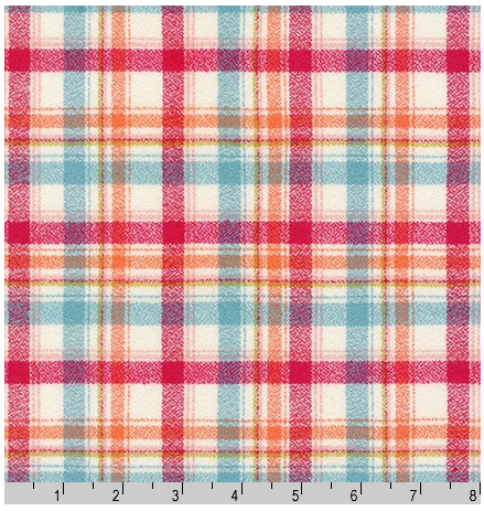 Mammoth Junior Flannel, 19840-349 Nectarine