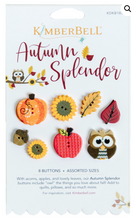 Load image into Gallery viewer, Kimberbell AUTUMN SPLENDOR BUTTONS