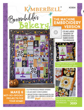 Load image into Gallery viewer, Kimberbell BROOMHILDA'S BAKERY EMBROIDERY CD AND BOOK