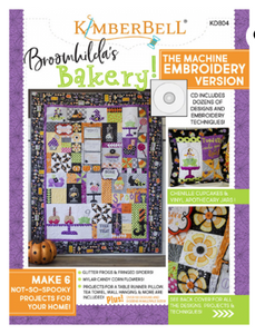 Kimberbell BROOMHILDA'S BAKERY EMBROIDERY CD AND BOOK
