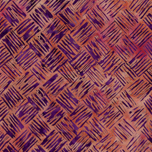 Brush Stroke Weave - Copper from Cascadia by Island Batik