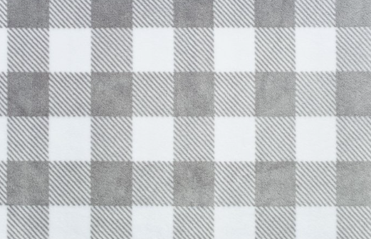 Buffalo Check Cuddle STEEL/SNOWby Shannon Fabrics