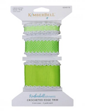 Load image into Gallery viewer, Kimberbell CROCHETED EDGE TRIM (LIME GREEN)