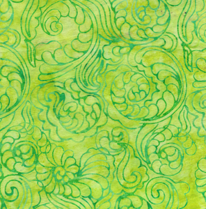 Foulard Swirl - Lemongrass from Cascadia by Island Batik