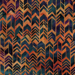 Geometric Arrow - Burnished Copper from Sundance by Island Batik