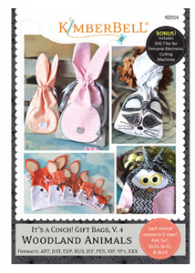 IT'S A CINCH! GIFT BAGS VOL. 4: WOODLAND ANIMALS