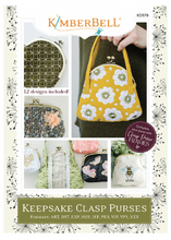 Load image into Gallery viewer, Kimberbell KEEPSAKE CLASP PURSES
