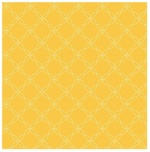 KimberBell Basics LATTICE Yellow