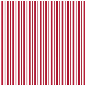 KimberBell Basics MINI AWNING STRIPE Red