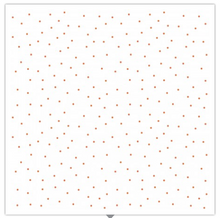 Load image into Gallery viewer, KimberBell Basics TINY DOTS White/Orange