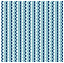 Load image into Gallery viewer, KimberBell Basics WAVY STRIPE Teal