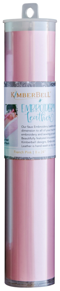 Kimberbell EMBROIDERY LEATHER – FRENCH PINK